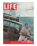 Salty Excitement of Ocean Fishing  April 7  1961