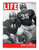 West Point Football Players Glenn Davis and Felix Blanchard  September 16  1946