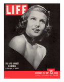 Actress Rita Hayworth  November 10  1947