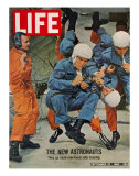 The New Astronauts  Astronauts Learning to Eat in Weightless Environment  September 27  1963