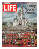 Disney World Opens  October 15  1971