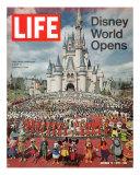 Disney World Opens  October 15  1971