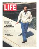 President Richard Nixon in Key Biscayne  February 21  1969