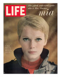 Actress Mia Farrow  May 5  1967