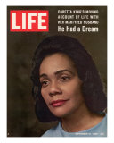 Coretta Scott King  Widow of Civil Rights Leader  September 12  1969