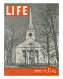 The Puritan Spirit  New England Church  November 23  1942