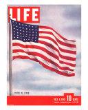 American Flag  July 6  1942