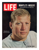 NY Yankee Slugger Mickey Mantle  July 30  1965