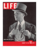 Columnist and Fashion Trendsetter Lucius Bebe  January 16  1939