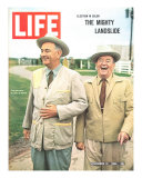 Pres Lyndon Johnson and VP Hubert Humphrey  The Mighty Landslide  November 13  1964