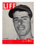 NY Yankee slugger Joe DiMaggio  May 1  1939