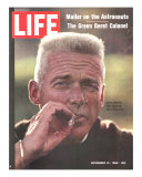 Former Green Beret Col Robert Rheault  Smoking Cigarette  November 14  1969