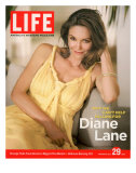 Portrait of Actress Diane Lane at Home  July 29  2005