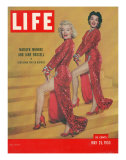 "Actresses Marilyn Monroe and Jane Russell in Scene from ""Gentlemen Prefer Blondes""  May 25  1953"