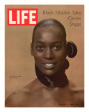 Model Naomi Sims  Black Models Take Center Stage  October 17  1969