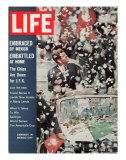 US President John F Kennedy Getting Ticker Tape Reception During a Visit to Mexico  July 13  1962