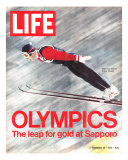 Olympics  Ski Jumper Yukio Kasaya  February 18  1972