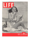 Actress Rita Hayworth  August 11  1941