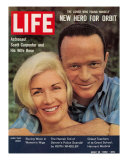 Astronaut Scott Carpenter and Wife Renee  May 18  1962