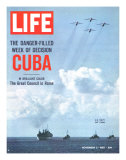 The Danger Filled Week of Decision: Cuba  US Navy Ships and Planes Off Cuba  November 2  1962