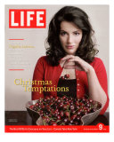 British TV Chef and Cookbook Author Nigella Lawson with Bowl of Cherries  December 9  2005