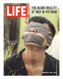 Viet Cong Prisoner of Cape Batangan Battle  Awaiting Transfer to US POW Compound  November 26  1965