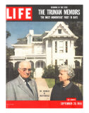 The Truman Memoirs  Former Pres Harry Truman and Wife  September 26  1955