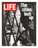The Cities Lock Up  Woman at Gated Window  November 19  1971
