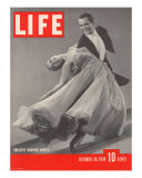 Top Ballroom Dancers  Frank Veloz and Yolanda Casazza  October 30  1939