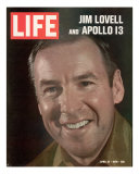 Jim Lovell  April 24  1970