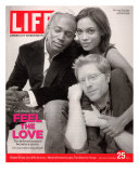 Rent Co-stars Taye Diggs  Rosario Dawson and Anthony Rapp  November 25  2005