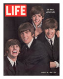 The Beatles  Ringo Starr  George Harrison  Paul Mccartney and John Lennon  August 28  1964