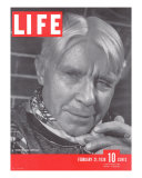 Poet Carl Sandburg  February 21  1938