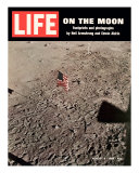 American Flag Planted on Moon  August 8  1969