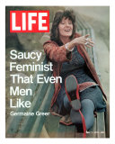 Feminist Germaine Greer  May 7  1971