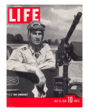 US Tank Commander Captain Clayton Mansfield  July 22  1940