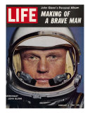 Astronaut John Glenn  Making of a Brave Man  February 2  1962