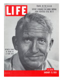 Actor Spencer Tracy  January 31  1955