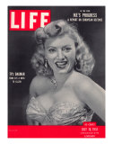 TV actress Dagmar  Virginia Ruth Egnor  July 16  1951