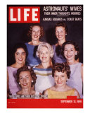 Portrait of Wives of Projest Mercury Astronauts  September 21  1959