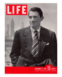 Actor Gregory Peck  December 1  1947