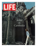 Jacqueline Kennedy in Cambodia  November 17  1967