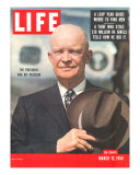 Dwight D Eisenhower  March 12  1956