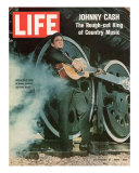 Singer Johnny Cash  November 21  1969