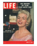 Actress Jayne Mansfield  April 23  1956