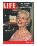 Actress Jayne Mansfield  April 23  1956