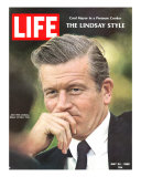New York City's Mayor John Lindsay  May 24  1968