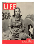 Slade Learns to be Ferry Pilot for Air Force  Women's Flying Training Detachment  July 19  1943