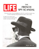 French Spy Scandal  Philippe Thyraud De Vosjoli  Head of French Intelligence in US  April 26  1968
