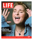 Portrait of Singer Melissa Etheridge  October 14  2005